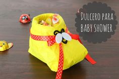 Dulcero de bota de bebé: Recuerdo para Baby Shower | Blog de BabyCenter