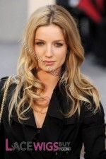Annabelle Wallis Long Hairstyle Remy Human Hair Wig
