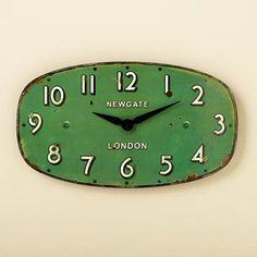 Love this tiny wall clock!