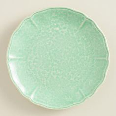 Setting a pretty table is such fun! I  think these are gorgeous! WorldMarket.com: Valletta Salad Plates, Set of 4