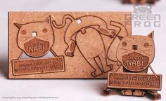 FREE Shipping : 100 Customized Business Cards Laser by LBonDesign
