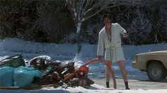 National Lampoons Christmas Vacation.  Eddie:  Merry Christmas.  Sh*tt%$r was full.