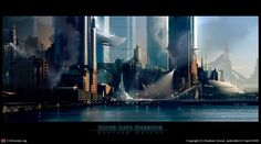 Silvergate Harbour by Bastien Grivet | 2D | CGSociety