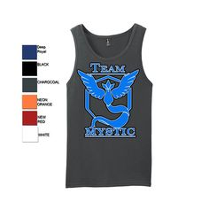 Pokemon Go Team Mystic: Blue Tank Top