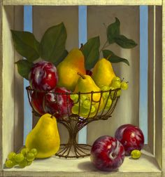 Denise Mickilowski | OIL | Fruit Americana