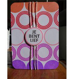 Scrapbookdepot - Joy clear stempelset Round n round tekst Rijan
