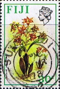 Postage Stamps Fiji 1971 Birds and Flowers Set Fine Used SG 446 Scott: 316 Other European and British Commonwealth Stamps HERE!