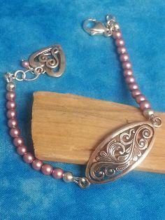 Elegant Sterling Swarovski Pearl Bracelet