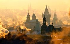 Mystic Prague by Martin Froyda  |  Prague is such a beautiful city.