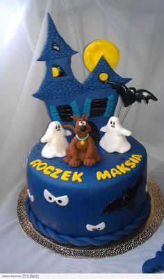 Tort na roczek - Scooby Doo