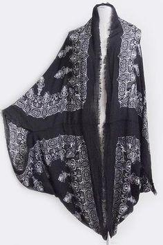Baroque Mandela Kimono