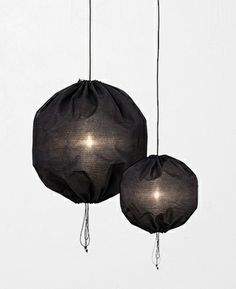 Kuu pendant lamps by Kerstin Sylwan  Jenny Stefansdotter