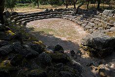 neroargento - pozzi e fonti sacre - Romanzesu Pozzo Bitti, Nuragic Age, Sardinia