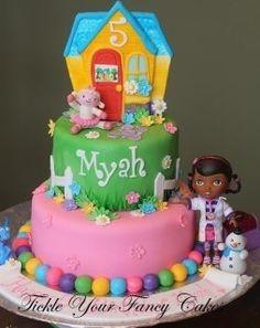 doc mcstuffins cake | Doc McStuffins cake idea | Birthday ideas :-)
