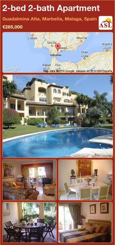 2-bed 2-bath Apartment in Guadalmina Alta, Marbella, Malaga, Spain ►€285,000 #PropertyForSaleInSpain