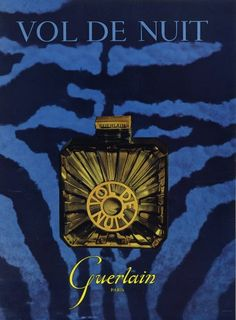 Guerlain (Perfumes) 1954 Vol de Nuit