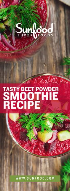 Raspberries and maqui berry powder give this delicious creation a huge boost of immune stimulating antioxidants. Organic Beet Powder adds in the inflammation balancing nutrient betaine. While coconut oil will keep you feeling energized and yacon syrup rounds out the recipe with a dash of sweetness.  Ingredients:  2 Tbsp Beet Powder 8oz Almond Milk 1 Tbsp Maqui Powder 1 Tbsp Melted Coconut Oil 5-6 Raspberries 1/4 tsp Yacon Syrup Handful of ice