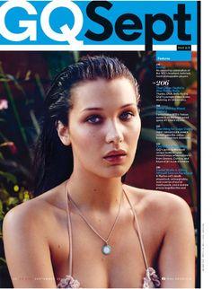 Bella Hadid || GQ Magazine (September 2015)