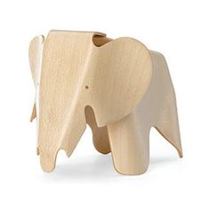 scale replica of the Eames Plywood Elephant. Construction, materials and colours correspond to the historical Vitra Design Museum collection original.
