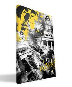 Another great find on #zulily! Iowa Hawkeyes Spirit Wall Art by Paulson Designs #zulilyfinds