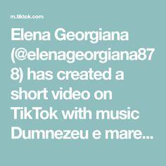 Elena Georgiana (@elenageorgiana878) has created a short video on TikTok with music Dumnezeu e mare. #🙏 🤗🤗 #populartiktok #motivation #fy #👉❤👈 #👉❤👈 #viral #foryou Motivation, Music, Musica, Musik, Muziek, Music Activities, Inspiration, Songs