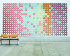 BAUX Sound Absorbing Wall Panels by Form Us With Love in interior design home furnishings Category Acoustic Wall, Acoustic Panels, Love Design, Wall Design, Design Color, Set Design, Design Ideas, Hexagon Wall Tiles, Geometric Tiles