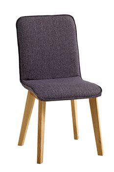 Ruokapöydän tuoli BRYRUP kangas harmaa | JYSK