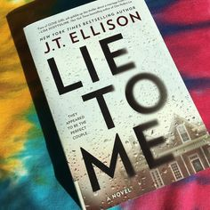 Lie to Me is a fast-paced crime fiction novel about the marriage of Sutton and Ethan Montclair. But nothing is quite as it appears in this domestic noir.J.T. Ellison kept me guessing throughout the whole book.  #bmtreads #bookreview #goodreads #booklover #bookworm #booknerd #bookstagram #instabook #igbook #