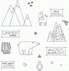Warmest Wishes Stamp Set