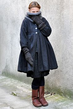 i love the layering and how warm and cozy it all looks.