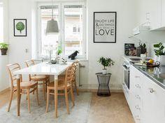 Konyha ötletek - 8 különböző konyha skandináv stílusban - színek burkolatok hangulatok