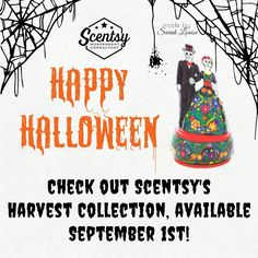 Scentsy's Halloween and Harvest collection available September 1st, 2016 #scentsbykris