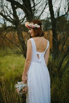 White Magazine: Issue Emma Soup Bridal Shoot photography by Justin Aaron. Leg Sleeves, My Flower, Flower Crowns, Bridal Shoot, My Wardrobe, Headpiece, Women's Accessories, Flower Girl Dresses, Legs