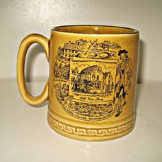 Vintage Tankard The Model Village Bourton on by thefoxofdelights, £3.99