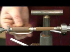 ROBERT SORBY MICRO PEN TURNING KIT - a British company -YouTube