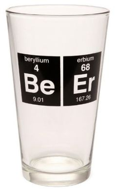 Periodic Beer Glass --- love it!