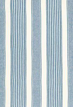 Summerville Linen Stripe Schumacher Fabric
