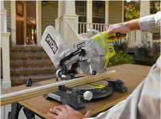 Ryobi Miter Saw One 18 Volt 7 1 4 Bevel 0° 45 with Laser Alignment Tool Only | eBay