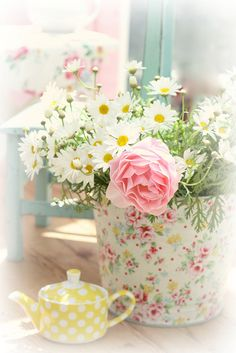 Daisies by lucia and mapp, via Flickr