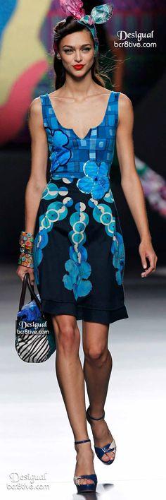 #Farbbberatung #Stilberatung #Farbenreich mit www.farben-reich.com Desigual Summer 2015 Madrid