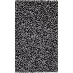 Mainstays Polyester Shag Area Rugs or Runner, Gray
