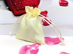 5X Satin Silk Luxury Jewellery Drawstring Bag Christmas Gift Wedding Pouches