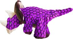 KONG Dynos Triceratops Dinosaur Pink Large Dog Toy Squeaky for sale online Kong Company, Kong Dog Toys, Pin Image, Dog Supplies, Large Dogs, Merino Wool Blanket, Things That Bounce, Pets