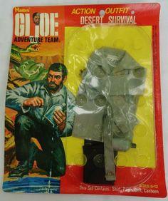VTG 1970s Retro Hasbro GI Joe Toy Doll Clothes NOS action desert survival outfit