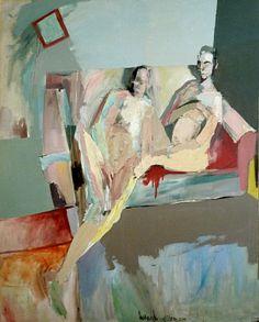 "Saatchi Art Artist: Armando Rabadán; Oil 2011 Painting ""Meditation at home / Sold"""