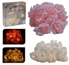 Rose Shape 3 M Indoor Outdoor Garden LED Wedding Party Fairy Light Lights String