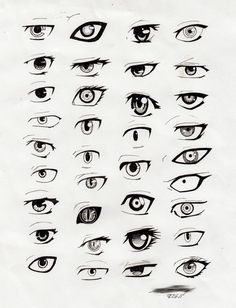 Anime Eyes Drawing Widescreen 2 HD Wallpapers