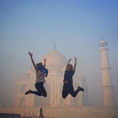 #shamelesstourist #tajmahal #agra #india @eryinnyc 💃🇮🇳