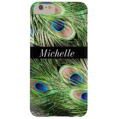 Beautiful Peacock Iphone 6 Plus Case