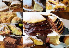 Torte soffici e facili da colazione, torte al cioccolato, senza burro, torte all'olio, raccolta di ricette, torte semplici, merenda, dolci per bambini, dolce leggeri